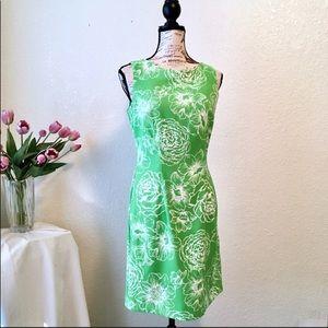 AGB // Lime Green Sheath Dress
